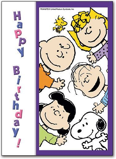 Snoopy happy birthday with peanuts gang pictures photos and images