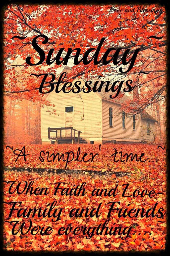 Autumn Sunday Blessings Pictures, Photos, and Images for Facebook, Tumblr, Pinterest, and Twitter