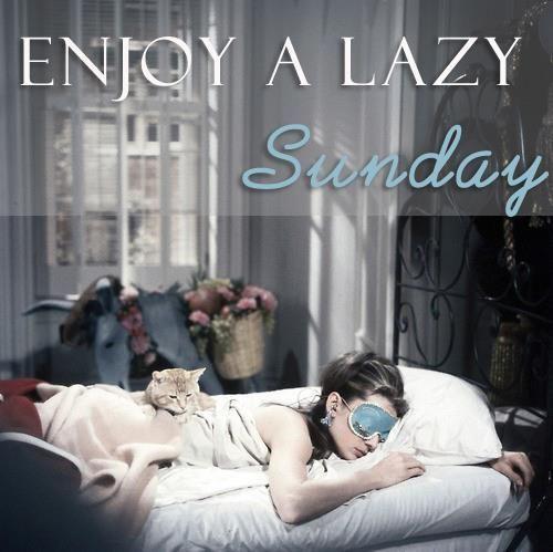 Afbeeldingsresultaat voor lazy sunday quotes