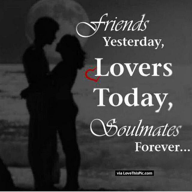 Funny Quotes About Lovers And Friends : Soulmates Forever Pictures, Photos, and Images for Facebook, Tumblr ...