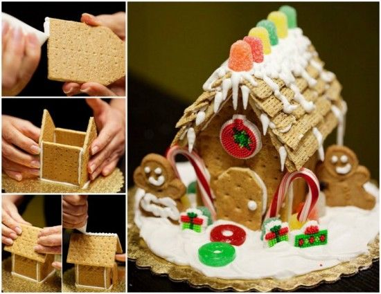 Diy Mini Gingerbread House Pictures Photos And Images