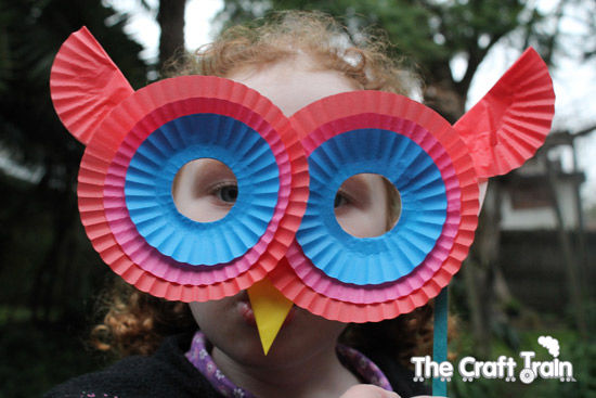 Owl Paper Plate Mask & Owl Paper Plate Mask Pictures Photos and Images for Facebook ...