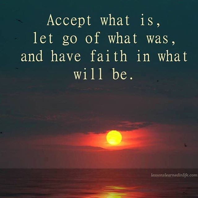 Good Morning Everyone Move On Acoustic : Accept what is let go of was and have faith in