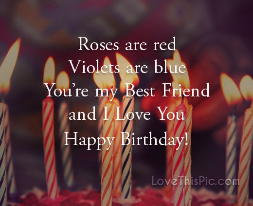 Birthday Love Quotes Custom Happy Birthday I Love You Quote Pictures Photos And Images For