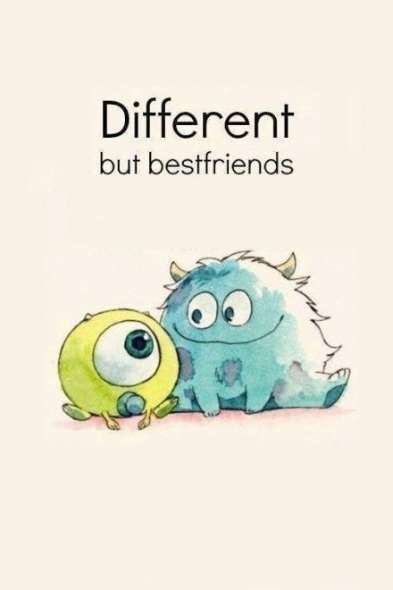 Cute Friend Quote Tumblr : Different but best friends quote pictures photos and