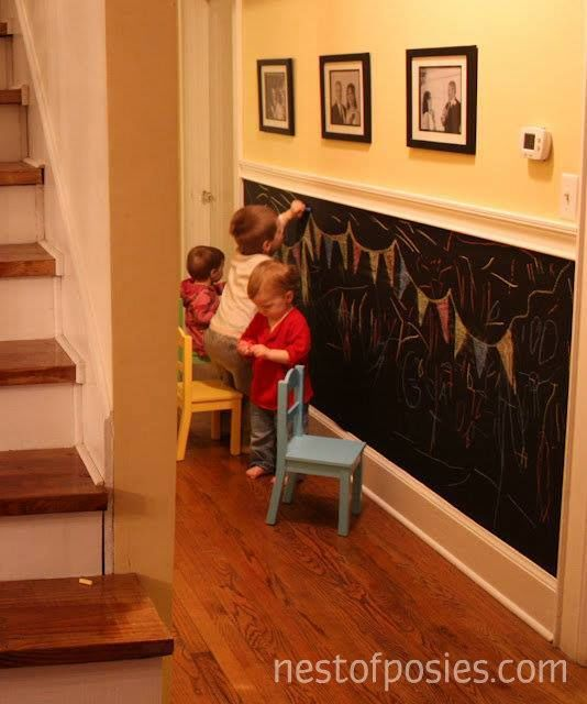 DIY Chalkboard Wall For Busy Kids Pictures, Photos, and ...