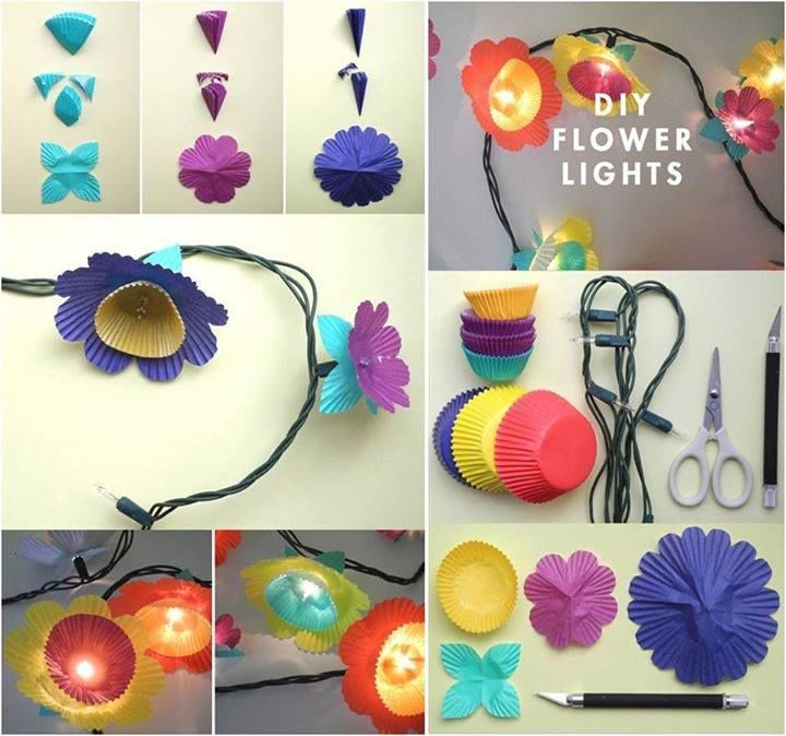 Do it yourself christmas lights to music autumn fairy lights do it yourself christmas lights to music diy cupcake liner light covers pictures photos and solutioingenieria Images