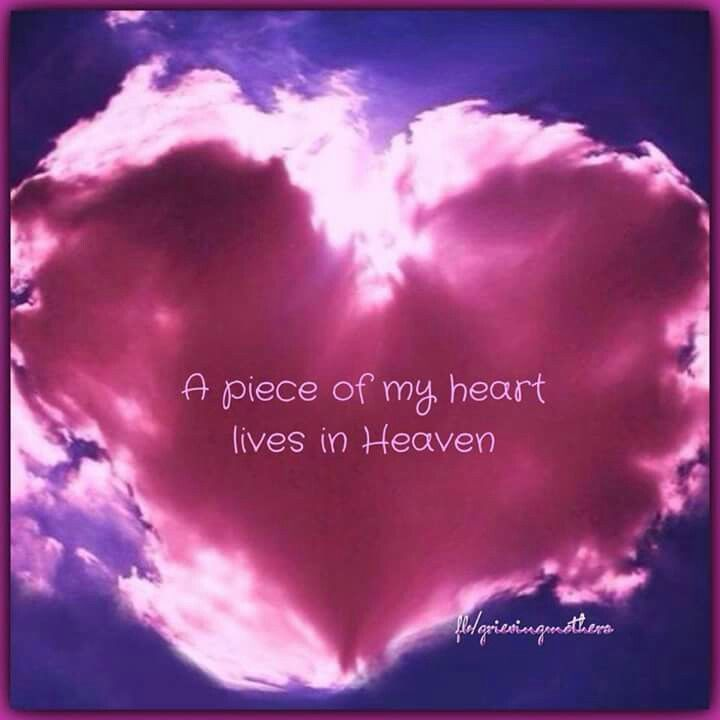 A Peace Of My Heart Lives In Heaven Pictures Photos And