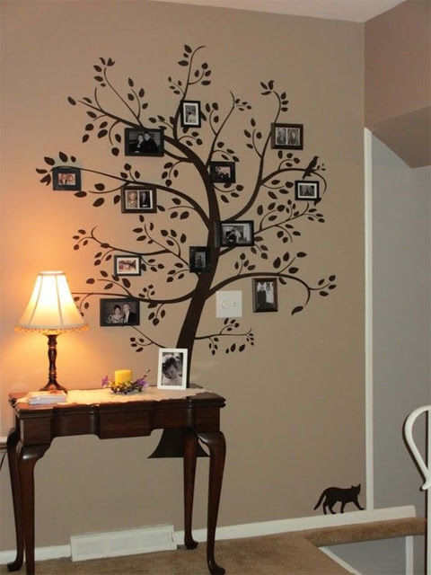 Diy Family Photo Display Click On Image To See More Home: Diy Family Tree Pictures, Photos, And Images For Facebook