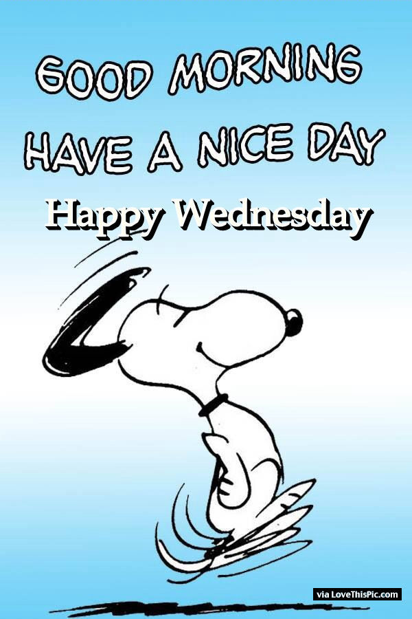 good morning have a nice day happy wednesday pictures Snoopy Thanksgiving Clip Art Halloween Pumpkin Clip Art