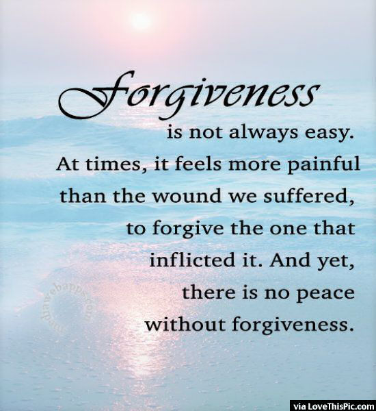 Forgiveness Is Not Always Easy Pictures, Photos, And