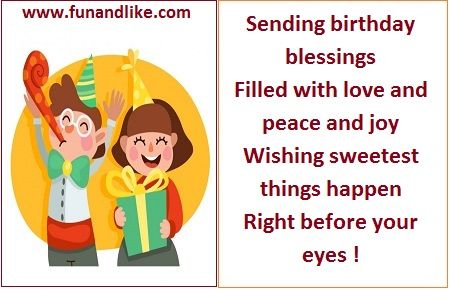 Birthday Wishes With Cute Little Kids Image