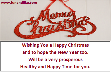 Merry Christmas Wishes SMS Wallpaper Pictures, Photos, and Images ...