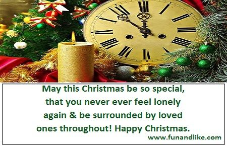 christmas wishes in english