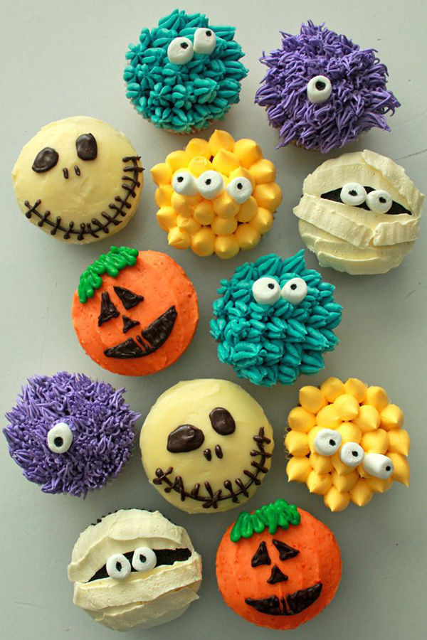 Adorable halloween cupcakes pictures photos and images Cute easy halloween cakes
