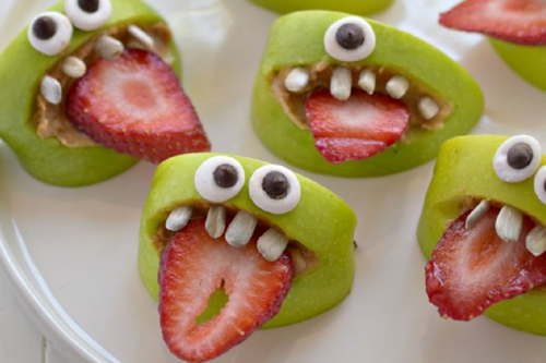 apple and strawberry monsters pictures photos and images for facebook tumblr pinterest and. Black Bedroom Furniture Sets. Home Design Ideas