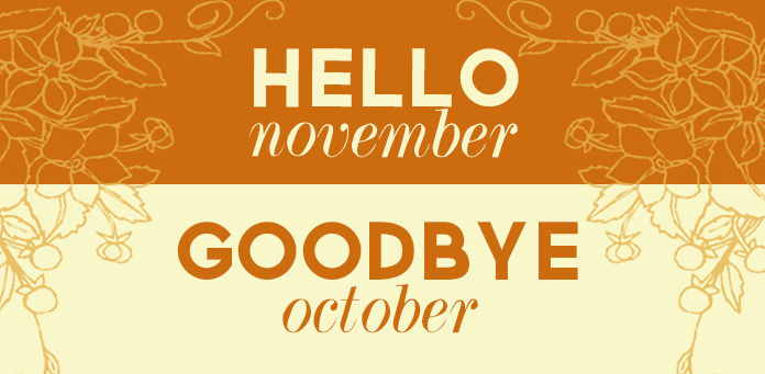 Hello November, Goodbye October Pictures, Photos, and Images for Facebook, Tu...