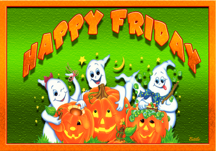 Happy Friday Ghosts Pictures Photos And Images For