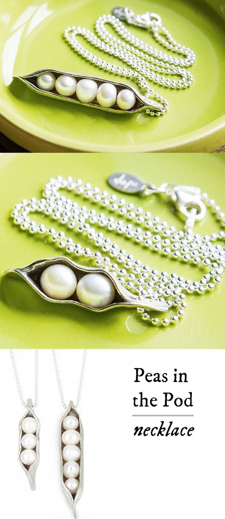 Peas in a pod necklace pictures photos and images for for Peas in a pod craft