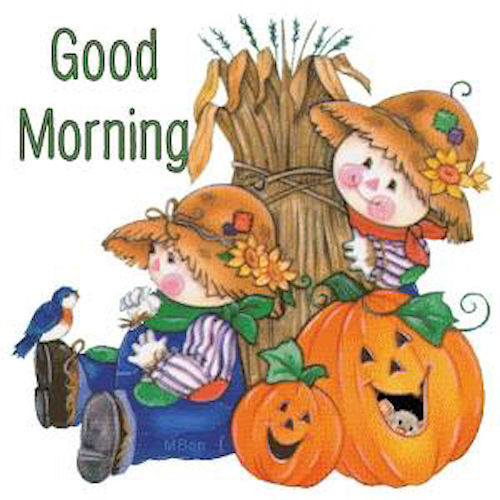 Cute Good Morning Scarecrows Pictures Photos And Images