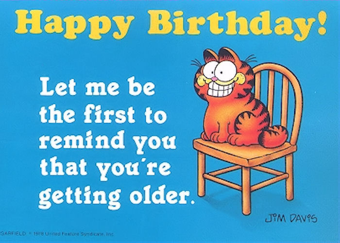 funny garfield happy birthday quote pictures photos and images for