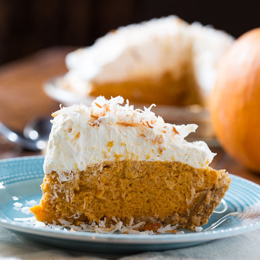 Coconut Pumpkin Chiffon Pie Pictures, Photos, and Images for Facebook ...