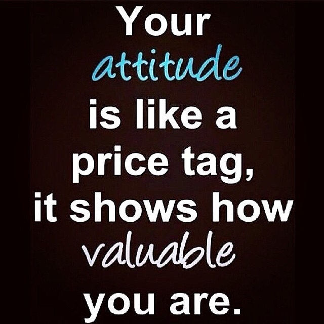 Quotes On Women Attitude: Your Attitude Is Like A Price Tag Pictures, Photos, And