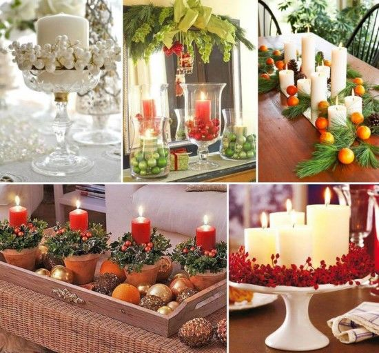 Christmas Table Centerpiece Ideas Pictures Photos And Images For