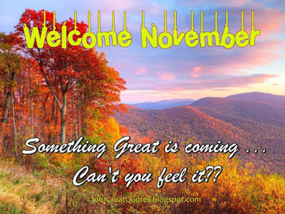 Welcome November Pictures Photos And Images For Facebook