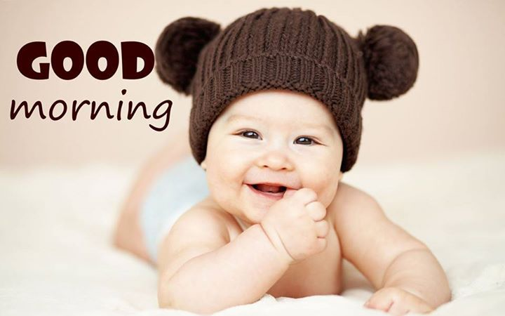Cute Baby Good Morning Quote Pictures Photos And Images
