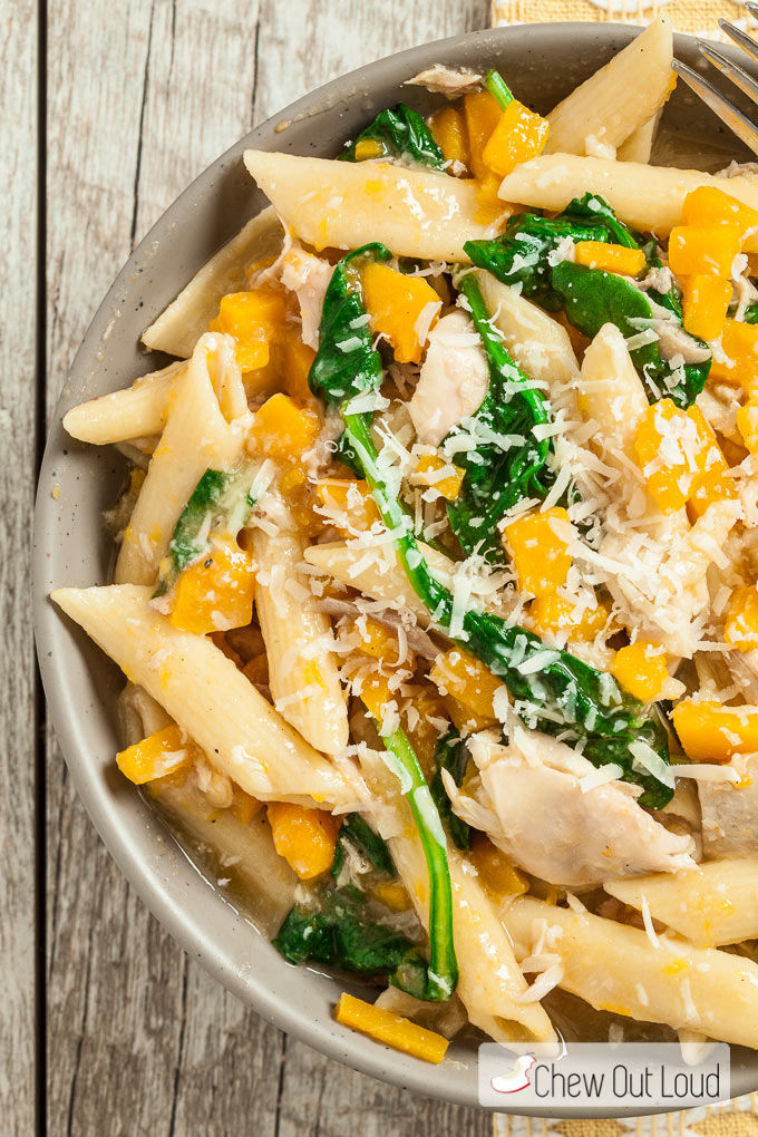 ONE PAN BUTTERNUT SQUASH PENNE Pictures, Photos, and Images for ...