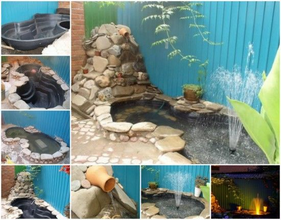 Diy fish pond pictures photos and images for facebook for Do it yourself fish pond