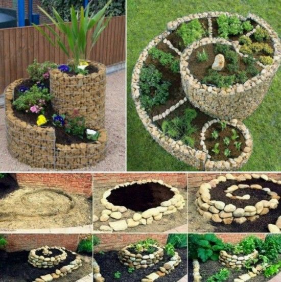 spiral herb garden pictures photos and images for