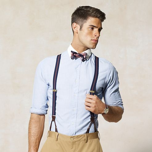 bow tie with suspenders with light blue shirt pictures photos and images for facebook tumblr. Black Bedroom Furniture Sets. Home Design Ideas