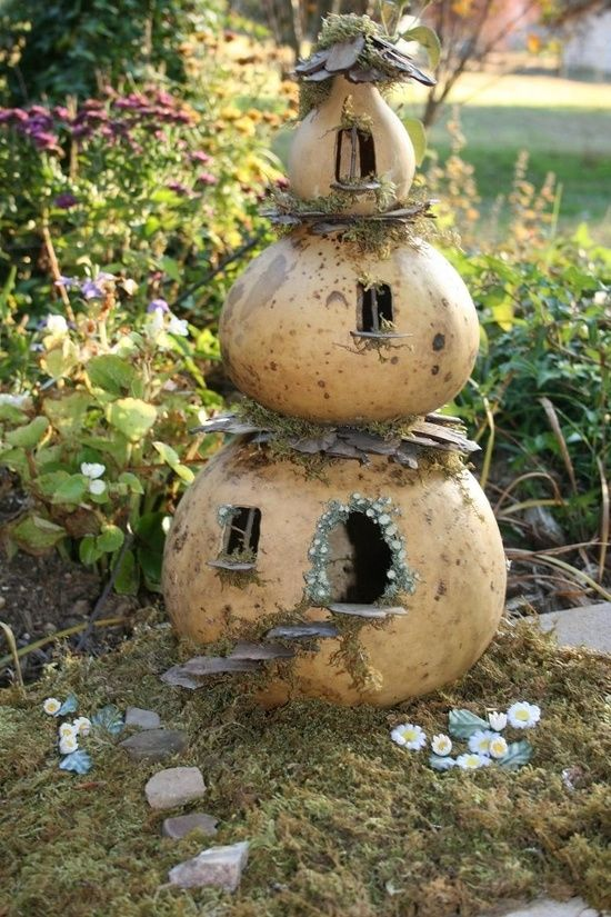 gourd fairy house pictures photos and images for facebook tumblr pinterest and twitter. Black Bedroom Furniture Sets. Home Design Ideas