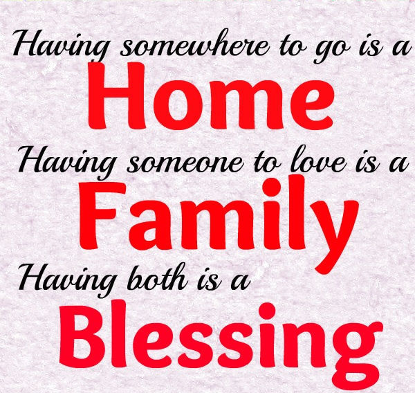 Facebook Quotes And Saying: Home Family Blessings Pictures, Photos, And Images For