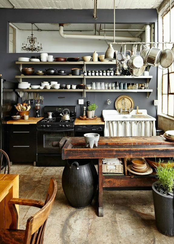 Rustic Farmhouse Kitchen Pictures, Photos, and Images for ... on Farmhouse Rustic Kitchen  id=47802