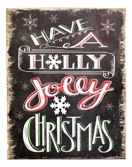 have a holly jolly christmas festive sign - Have A Holly Jolly Christmas