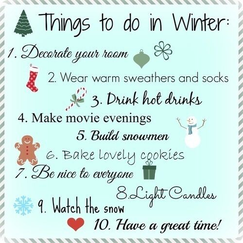 all the things to do in winter pictures photos and. Black Bedroom Furniture Sets. Home Design Ideas