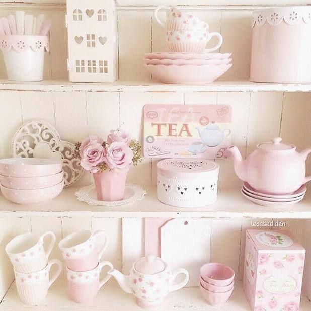 Pink Tea Sets