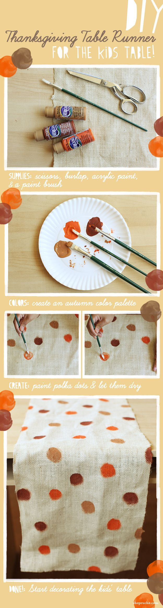 Diy thanksgiving table runner pictures photos and images for Easy diy table runner