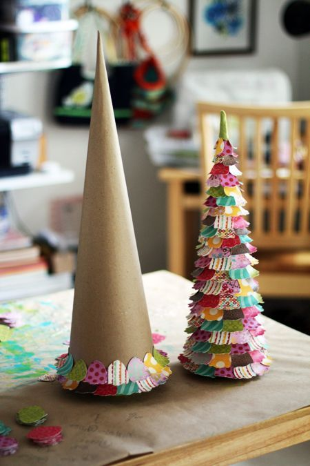Cute Easy Diy Paper Christmas Trees Pictures Photos And Images For
