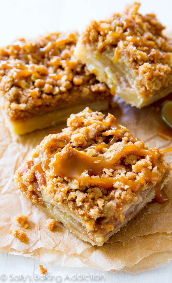 Salted Caramel Apple Pie Bars Pictures, Photos, and Images for ...
