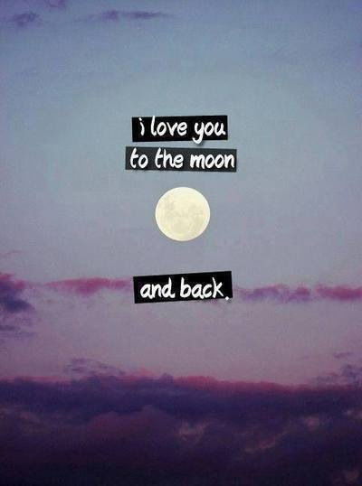 I Love You To The Moon And Back Pictures, Photos, and ...