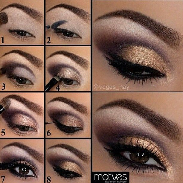 Golden Eye Makeup Pictures Photos And Images For Facebook Tumblr