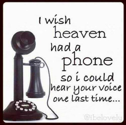 i wish heaven had a phone