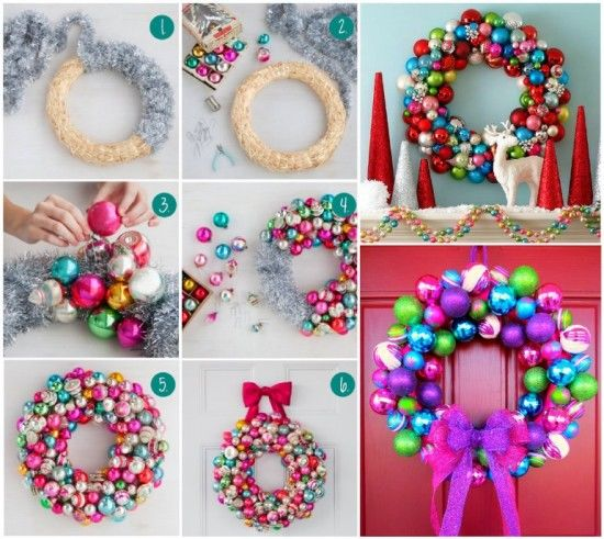 DIY Bauble Wreath Pictures, Photos, And Images For