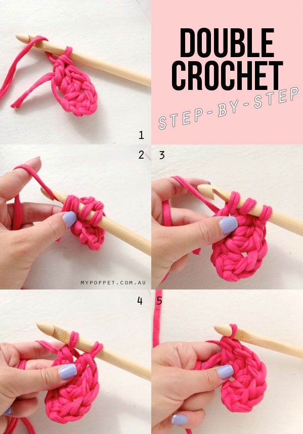 Double Crochet Step By Step Pictures, Photos, and Images ...