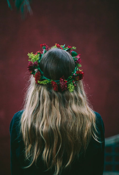 Flower Crown For Brown Hair Pictures Photos And Images