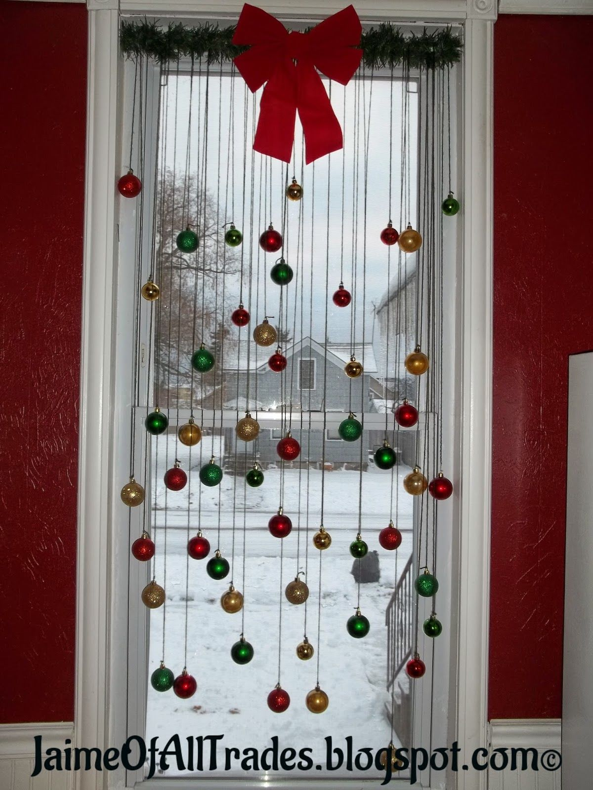 Christmas Window Ornament Decoration Pictures Photos And